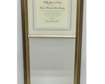 Personalized Wedding Mirror with Invitation