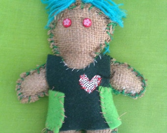 Art doll #4 - Free delivery to the UK