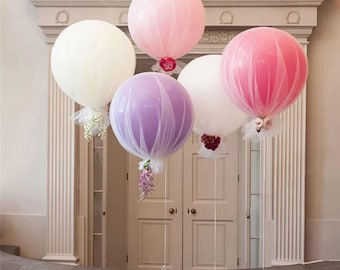 """36"""" GIANT latex BALLOONS for all occasions weddings, birthday parties, showers, gender reveal"""