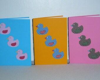 Set of five patterns pack 2 ducklings