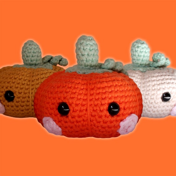 Baby Pumpkin - Halloween. Amigurumi Pattern PDF.