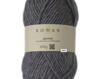 Rowan Cocoon made with merino wool and kid mohair 100g chunky yarn Made in England