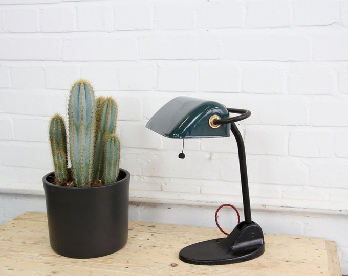 Bankers Desk Lamp By Gebruder Jacob Circa 1920s