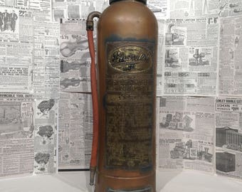 Vintage Phomene Fire Extinguisher