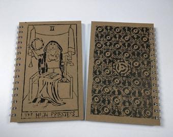 Stevie Nicks as The High Priestess Rock'n Roll Tarot Notebook