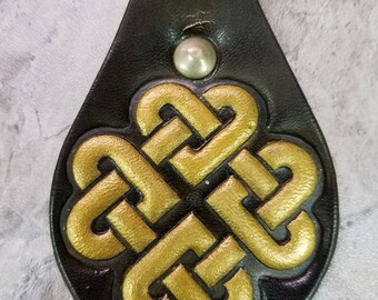 Celtic Knot Keychain Zipper Pull Key Chain