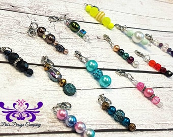 13 Charms - Travelers Notebook Charm - Purse Charm - Zipper Charm - TN charms - Zipper Pulls - Bakers dozen