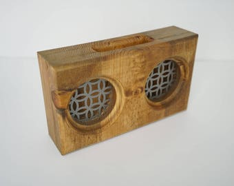 Wooden Smartphone Amplifier / Passive Speaker - Pine