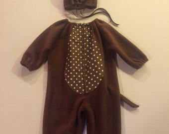 Brown mouse costume kids