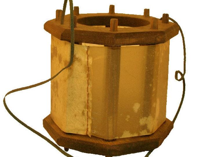Wooden Medieval Lantern
