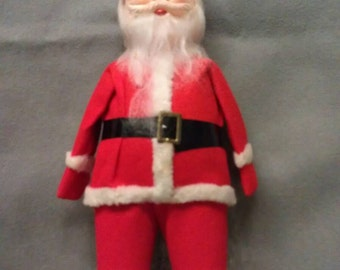 Vintage Santa Claus with Midway Top Of Boots Pants