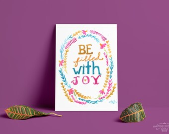 Be Filled With Joy