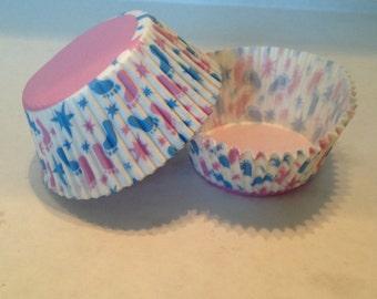 Baby Footprint Cupcake Liners