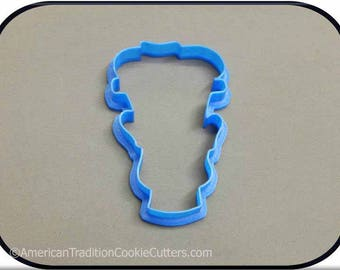 "3.75"" Frankenstein  3D Printed Cookie Cutter #P3000"