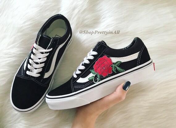 vans old skool rote rosen