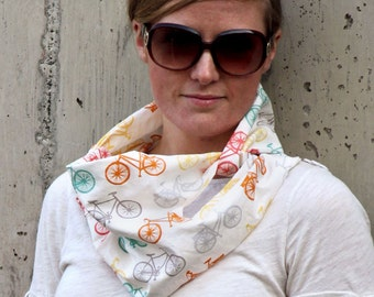 Commuter Infinity Cowl Sewing Pattern Scarf Cowl Modern PDF