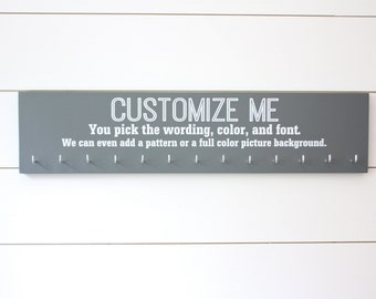 Customizable Large Medal Holder - You design it, we make it!