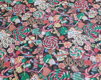 Holiday Sweets Cotton Fabric from Concord Fabrics