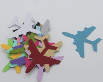 Plane : Die-cut cutting cardstock paper embellishment scrapbooking