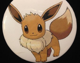 Pokemon Eevee Button