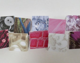 10 Fashionista Gift Cards, Gift Cards, Mini Cards, Fashionista, Handmade Cards.