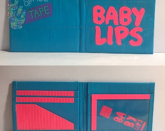 Baby L*ps Duct Tape Bifold Wallet