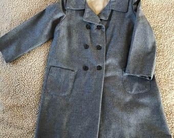 Girls Size 6 wool coat