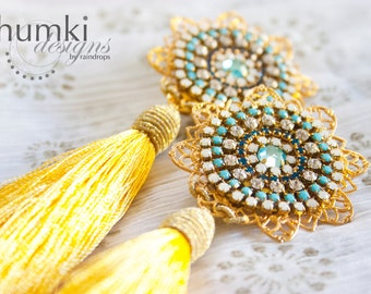 Kirana /// Earrings by Jhumki - designs by raindrops