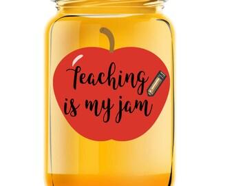 100 days of school jam jar labels⎜Personalized gifts⎜teachers office staff favors gift⎜teacher appreciation⎜Custom jelly labels⎜school kids