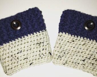 Crochet boot cuffs , boot toppers leg warmers