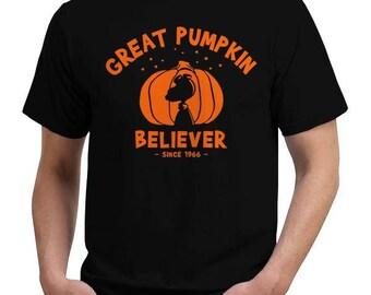 Great Pumpkin Believer Halloween Costume T-Shirt