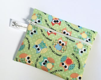 Medium Owl Reusable Baggie