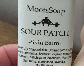 Sour Patch- Hand balm - hand salve - dry skin
