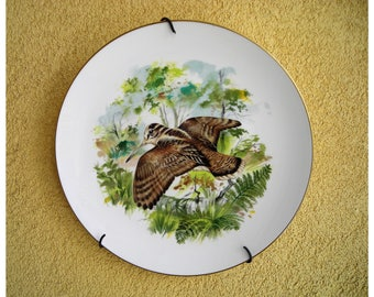 Beautiful  27cm porcelain plate from the famous English brand Royal Worcester