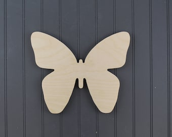 Butterfly Shape - Butterfly Cutout - Wood Shape - Wooden Cutout - Crafting Shapes - Home Decor - Wall Decor - Bathroom Decor - Kids Room -
