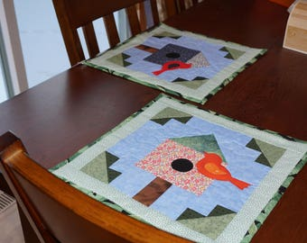 Bird House Placemats