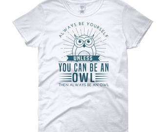 unisex adult clothing - owl shirt - owl tshirt - sleep shirt - owl lover gift - owl gifts - nature t shirt -YOURE GETTING SLEEPY -sweatshirt M9yyHhRpsv