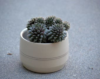 Ceramic flower pots, Ceramic planters, Indoor planter, Ceramic plant pots , Housewarming gift, White ceramic planters, Handmade pottery