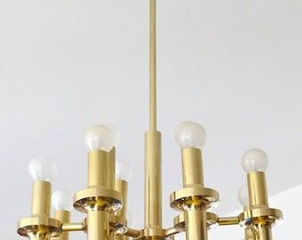 Sciolari Sputnik Kronleuchter Aus Messing, 1960er Jahre Anhänger Lampe  Retro Anhänger Beleuchtung Lampe Atomaren Mid