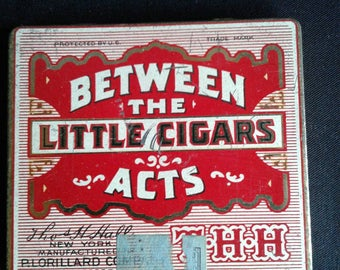 Cigar tin from the 30s