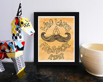 Mustache Printable, Moustache Print, Hipster Wall Art, Poster Printables, Decor, Instant Digital Download, 8x10