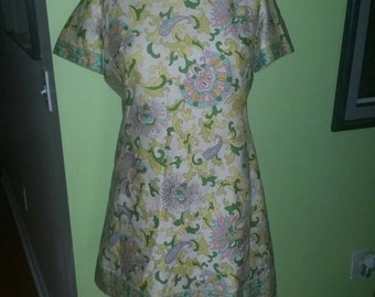 Lovely Plus Size Lord & Taylor Authentic Vintage Dress
