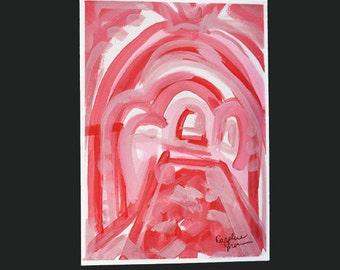 Belgrano Door in Pink