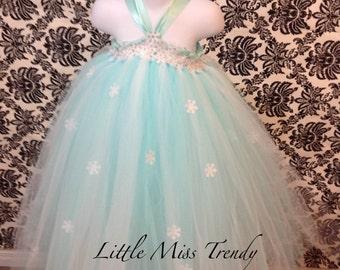 Frozen Inspired Tutu Dress, Frozen Tutu Dress, Elsa Tutu Dress, Princess Elsa TutUu Dress, Tutu Dress Elsa, Queen Elsa Tutu Dress, Elsa