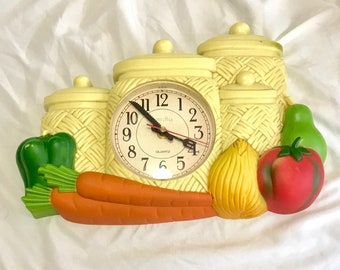 Vintage Laurel Hill Kitchen Wall Clock