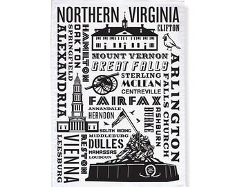 Norther Virginia Tea Towels