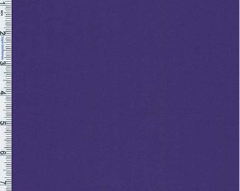 Regal Purple Shimmer Polyester, Fabric By The Yard