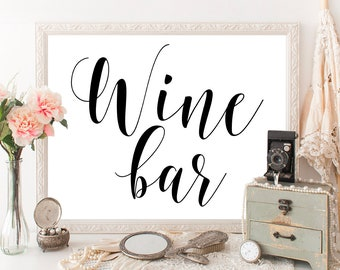 Wine bridal shower decor Wine bachelorette party Wine bar sign Wine tasting party Country bachelorette party Wine and cheese party #vm31