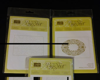 3 Stampin Up! Sizzix BIG SHOT for Stampin Up! New Unopened