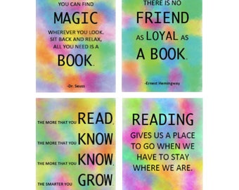 Reading Motivation Posters (Set of 4)